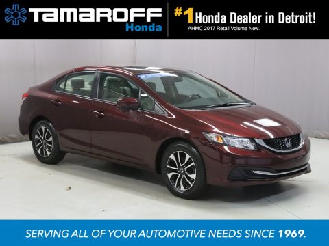 Certified Pre Owned 2015 Honda Civic EX