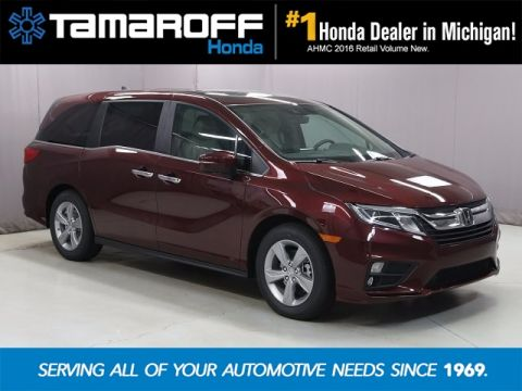 New 2018 Honda Odyssey EX-L w/Navigation and Rear Entertainment System With Navigation