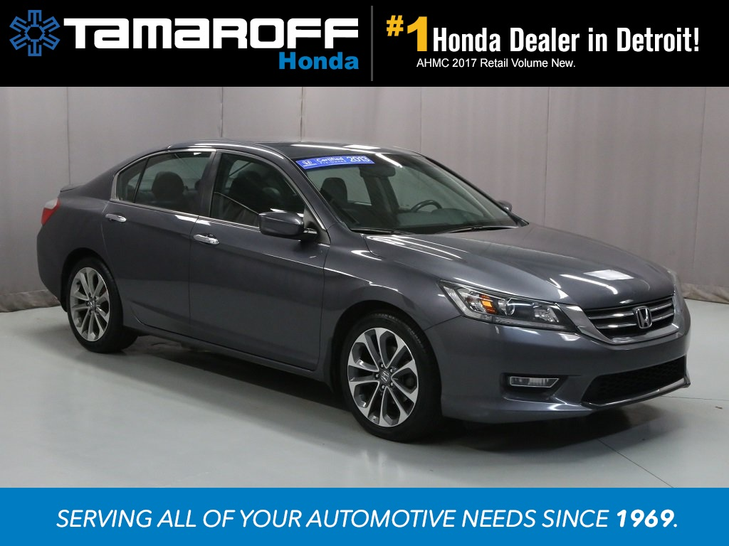Certified Pre Owned 2013 Honda Accord Sport