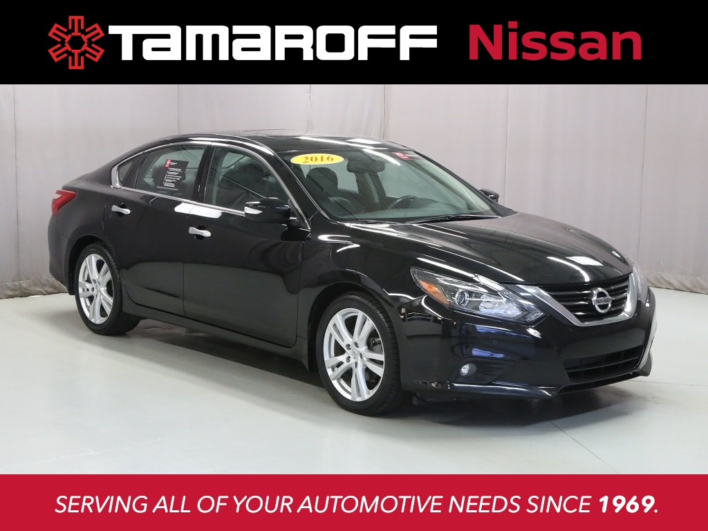 2016 Nissan Altima 3.5 Sl >> Certified Pre Owned 2016 Nissan Altima 3 5 Sl Fwd 4d Sedan