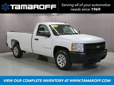 Pre-Owned 2008 Chevrolet Silverado 1500 Work Truck
