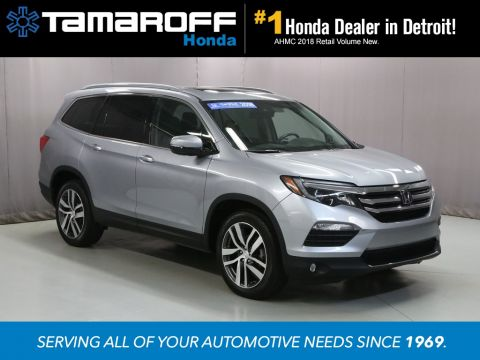Certified Pre-Owned 2018 Honda Pilot Elite